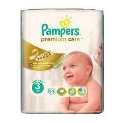 PAMPERS PREMIUM CARE 3 MIDI X 20 BUC.