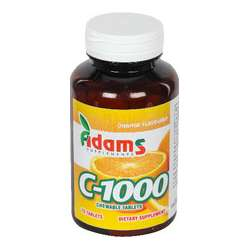 ADAMS VISION VITAMINA C 1000MG X30CPR.MASTIC.