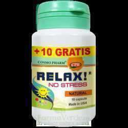 COSMOPHARM RELAX NO STRES *10 CPS+ 10 PROMO